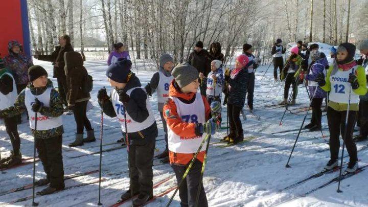 На трассе «Бородинская» прошли лыжные гонки, на призы городской газеты