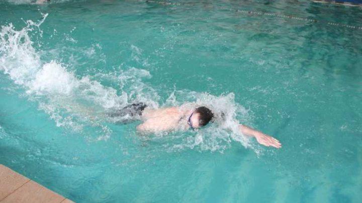 В «Южном Кузбассе» прошла спартакиада по плаванию