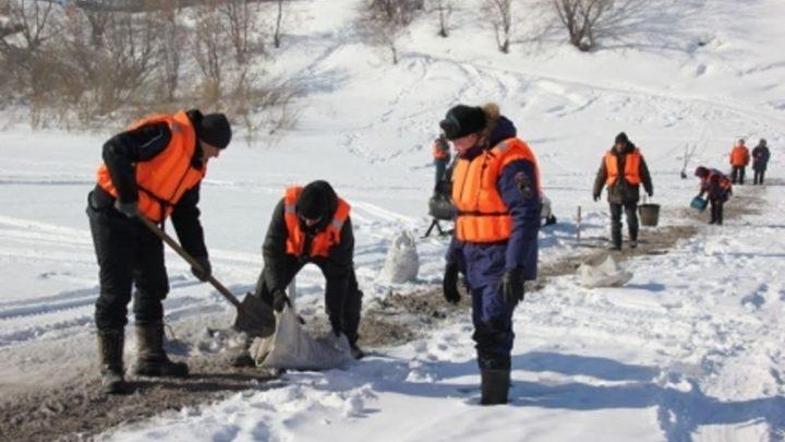 В Кузбассе закрыта первая ледовая переправа через реку Уса