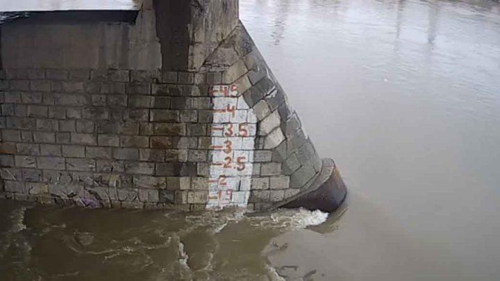 Уровень реки Мрас-Су идет на подъем