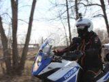В Кузбассе начали свою работу мотопатрули ГИБДД