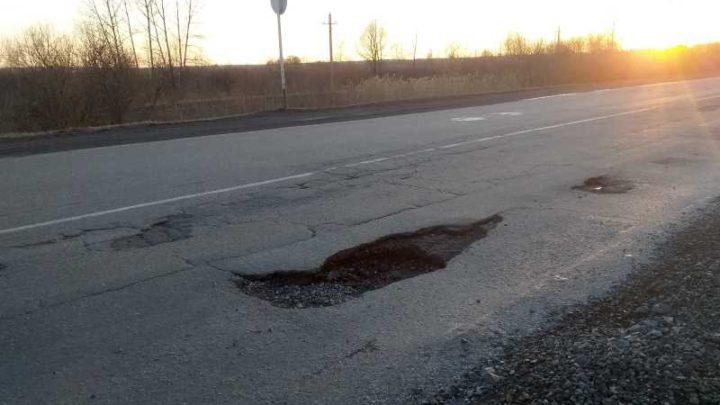 Где же ты НДРСУ? Автолюбители разбивают свои машины на дорогах Мысков