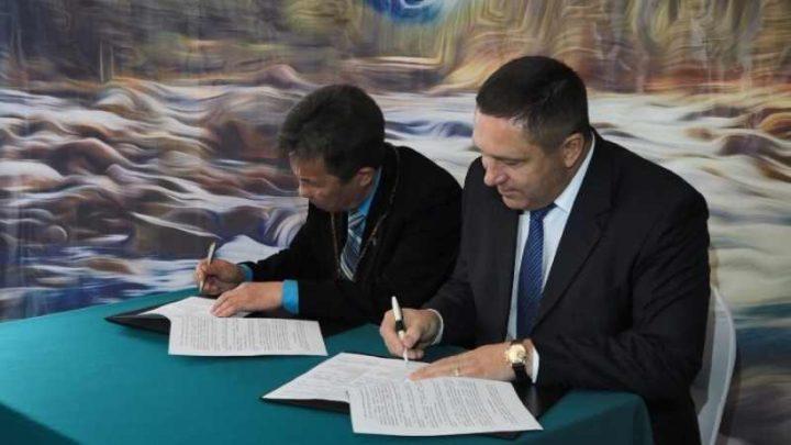 В Мысках «Разрез Кийзасский» заключил соглашение о сотрудничестве с благотворительным фондом «Развитие Горной Шории»