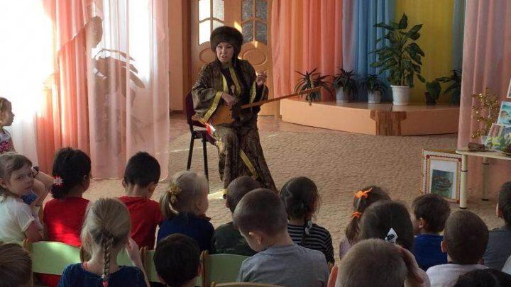 В Мысках воспитанников детских садов знакомят с шорской культурой