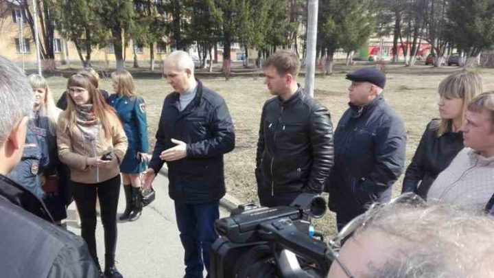 Очередной объезд городских территорий прошел в микрорайоне ГРЭС