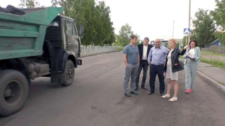 Власти Мысков провели объезд городских территорий