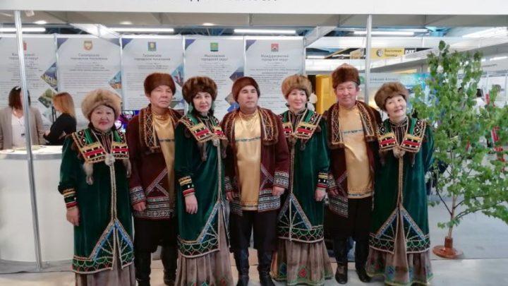 Мысковский шорский фольклорный ансамбль «Отчагаш» выступил на «Уголь России и Майнинг» в Новокузнецке