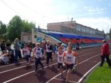 В Мысках состоялся легкоатлетический кросс, посвященный Дню защиты детей