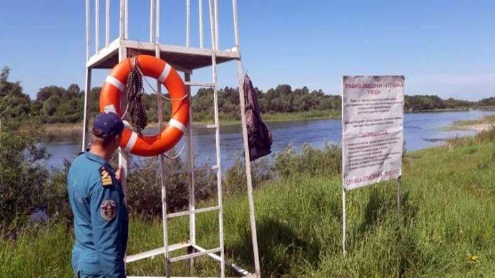 В Мысках открыты места массового отдыха людей у воды