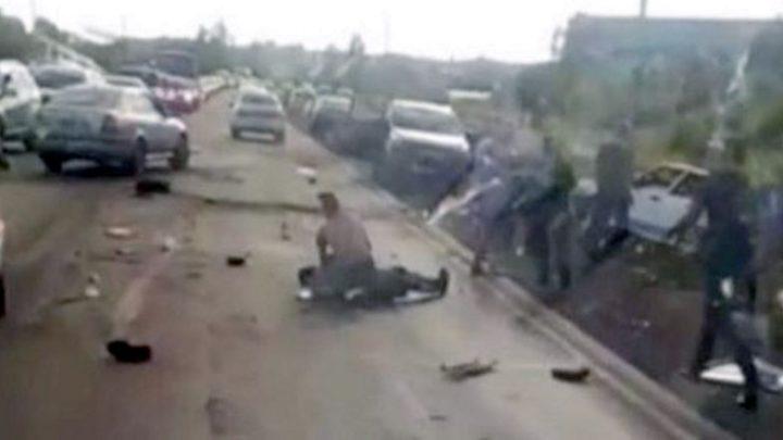 В Мысках произошло смертельное ДТП с участием трех автомобилей