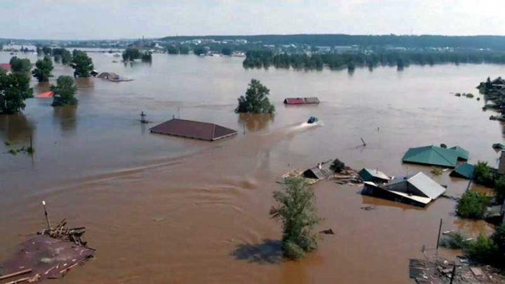 Мысковчане отправили гуманитарную помощь пострадавшим от наводнения в Иркутской области