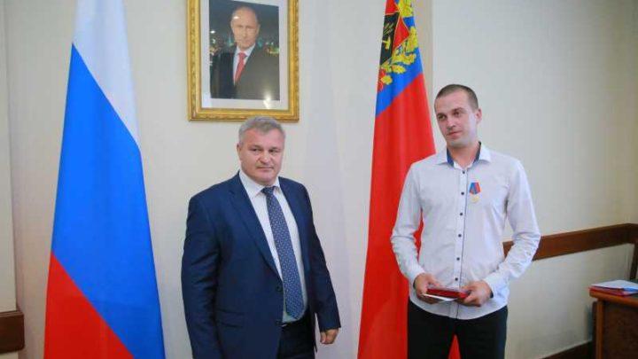 Мысковчанин Владимир Катуков награжден медалью «За честь и мужество»