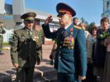 В Мысках прошел митинг, посвященный памяти Героя Советского Союза М. Куюкова