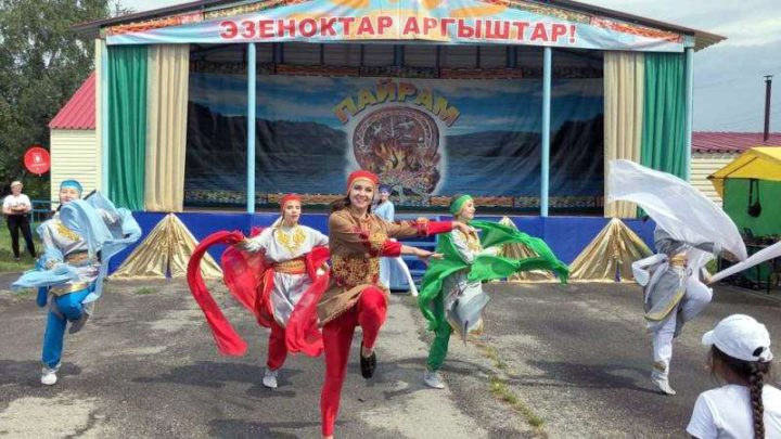 В Мысках состоялся шорский национальный праздник «Томазак Пайрам – 2019»