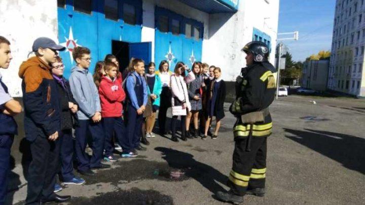 Учебный год в мысковских школах и детских садах начался с месячника безопасности
