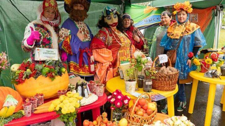 Мысковские садоводы приняли активное участие в Кузбасской выставке-ярмарке «САД И ОГОРОД. УРОЖАЙ 2019»