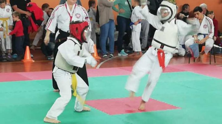 В СОК «Олимп» прошли соревнования по косики каратэ, посвященные памяти воина-интернационалиста И. Кусургашева