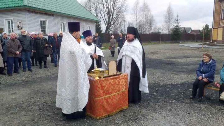 В Мысках открыт памятный крест жертвам политических репрессий