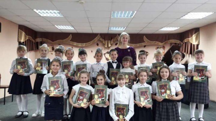 В детской музыкальной школе №64 прошло посвящение учащихся в юные музыканты