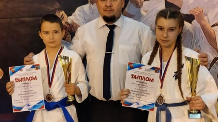 Спортсмены из Мысков успешно выступили на соревнованиях по киокусинкай каратэ в Гурьевске