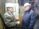 Глава Мысков Евгений Тимофеев побывал на котельной муниципального предприятия «ТХМ» и в ДК «Юбилейный»