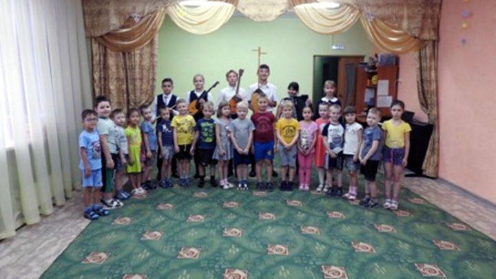 Детская музыкальная школа № 64 посетила детский сад №17 с концертом «Я – музыкант»