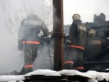 На улице Парковая произошло возгорание бани