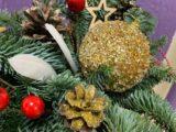 В ДК им. Горького прошёл мастер-класс по созданию рождественских букетов и объемных цветов