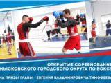 С 23 по 25 января пройдут городские соревнования по боксу на приз главы Мысков Евгения Тимофеева