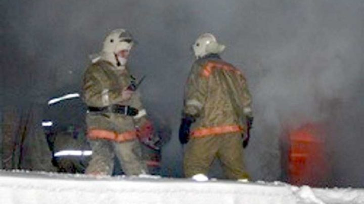 На улице Правды произошло возгорание гаража
