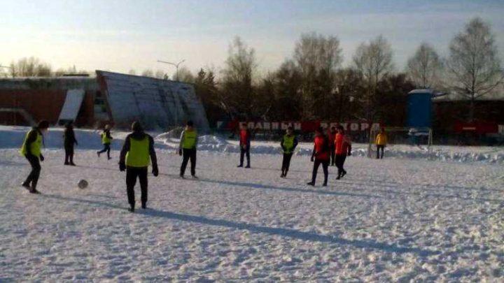 Блицтурнир по мини-футболу прошел на СК «Энергетик»