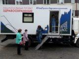В Мысках будет работать передвижной маммограф