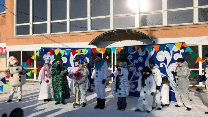 В Мысках состоялся фестиваль- конкурс снеговиков