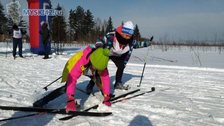 В Мысках прошли соревнования по лыжным гонкам на приз местной газеты