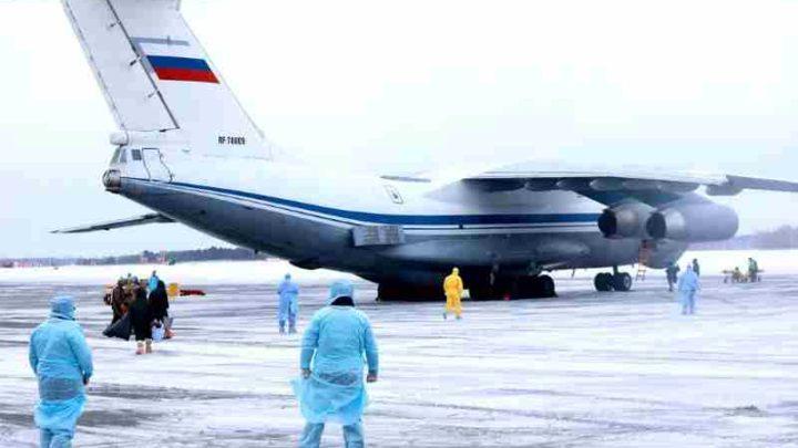 В МИД РФ отказались возвращать россиян на родину после 26 марта