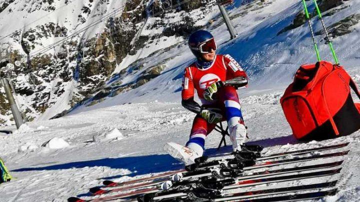 Мысковчанин Александр Андриенко стал серебряным призером чемпионата России по горным лыжам