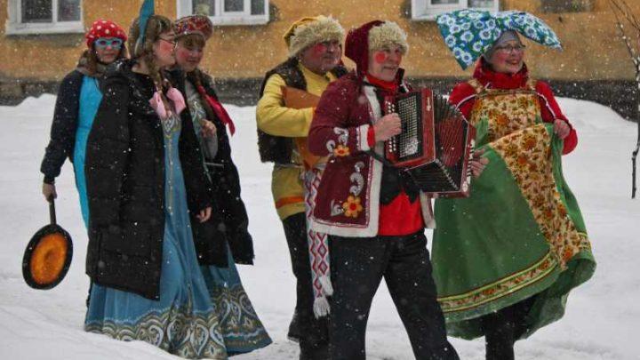 Масленица в Мысках: народные гулянья, конкурсы и традиционные забавы