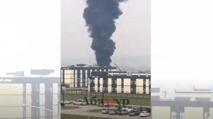 В Кемерове загорелось президентское кадетское училище