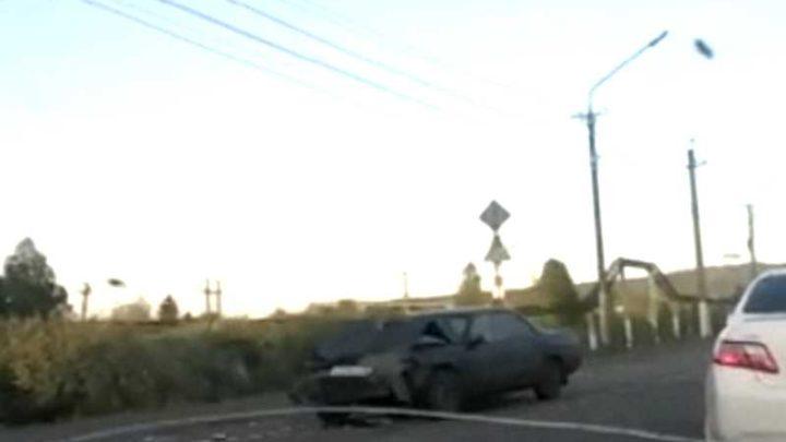 В Мысках произошло ДТП с участием автомобилей Toyota