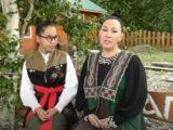 Умай и Чылтыс Таннагашевы прочли стихотворение А.С. Пушкина на русском и шорском языках