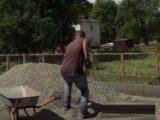 В Мысках благоустраивают дворы и ремонтируют дороги