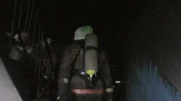 В Мысках на улице Кутузова сгорела квартира