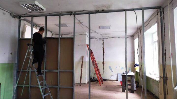 В учреждениях культуры и спорта Мысков проводятся ремонтные работы